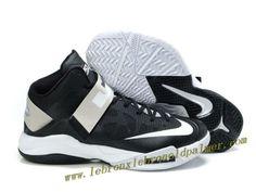 Nike Lebron Zoom Soldier VI Shoes Black White Discount