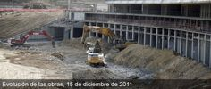 Club Atlético de Madrid - La evolución de las obras del nuevo estadio del Atlético de Madrid