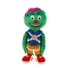 ONE OF A KIND! 69 Signaturs on 1M Clyde Plush www.auction.glasgow2014.com