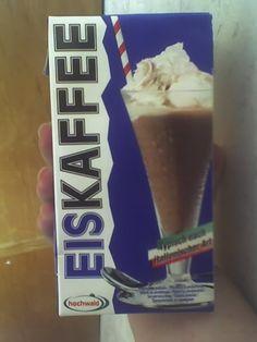 Chutná ledová káva.
