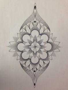 some for the shin / wat fürs schienbein geometrik mandala