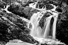 Stellar Multimedia  Rogie Falls  Photo by @serinamarshall82 on instagram  Long exposure Black and white Landscape photography Scotland
