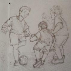Futebol de amigos, by Letícia Freitas
