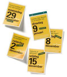 ABN Amro interne campagne - kalender