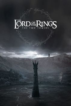The Lord of the Rings: The Two Towers poster Lord Of Rings, Fellowship Of The Ring, The Lord Of The Rings, The Two Towers, O Hobbit, Alternative Movie Posters, Jrr Tolkien, Middle Earth, Lord