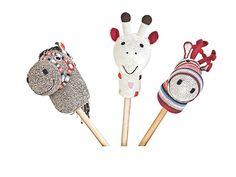 Hand Crochet Stick Animal