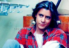 Judd Nelson circa Breakfast Club.  I'd be locked in a supply closet with him any day...