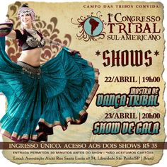 [Resenhando- SP] 1º Congresso Tribal Sul-Americano - Show de Gala por Melissa Souza
