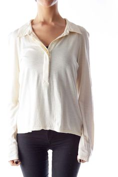 d9370cfd9c608 The best shirt for a casual day out Beige Cotton Shirt by Max Mara  silkroll