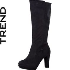 Tamaris-Schuhe-Stiefel-BLACK-Art.:1-1-25523-21/001