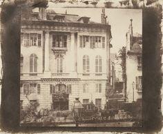 William Henry Fox Talbot (English, 1800 - 1877) 'Boulevard des Italiens, Paris' 1843