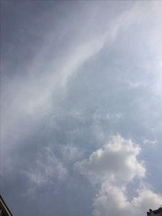 2017년 4월 21일의 하늘 #sky #cloud