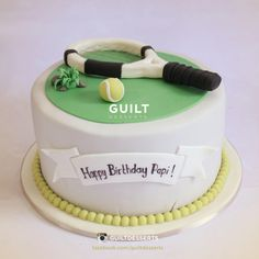 Tennis Player - Cake by Guilt Desserts
