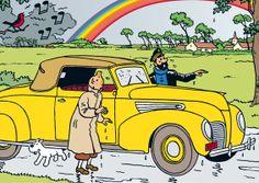 Tintin og De Syv Krystalkugler • Tintin, Herge j'aime