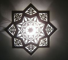 Moroccan Star Flush Mount Ceiling Light Fixture Lamp #Moroccan