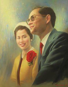 King & Queen of Thailand