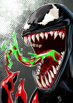 Venom fast painting..... by ~Ruihq on deviantART