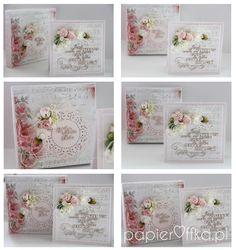kartka na ślub, stylowa, pudełko, scrapbooking, prezent, papieroffka