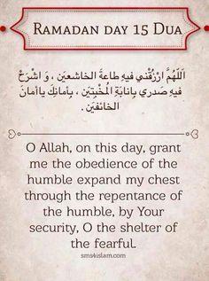 A Muslimah's Musing's: Fun day) Ramadan Calendar. Ramadan Dua List, Ramadan Prayer, Mubarak Ramadan, Ramadan Day, Islam Ramadan, Islamic Prayer, Islamic Dua, Religious Quotes, Islamic Quotes