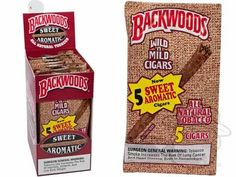 Backwoods Sweet Aromatic Pack of 40 4 1/2 x 32—Small Packs: 40 Cigarillos - Best Cigar Prices