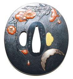 Nisei Week Sword toshiyuki--Plum (?) & Moon