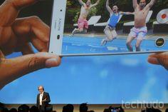Conferência da Sony na CES 2015 em Las Vegas (Foto: Fabrício Vitorino/TechTudo)
