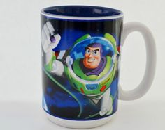 Buzz Lightyear Coffee Mug Disney Home, Disney Fun, Disney Kitchen, Buzz Lightyear, Disney Merchandise, Coffee Mugs, Funny, Ha Ha, Coffee Cup