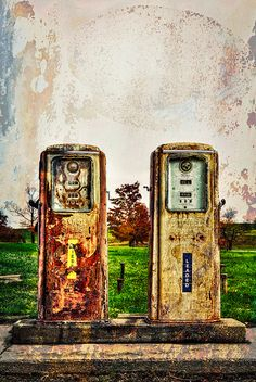 Old Gas Stations by Kay Gaensler