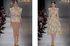#SPFW: GIG Couture E Seu Tricô Retrô Futurista Para O Verão 2016