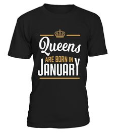 Queens Are Born In January Shirt Legends Are Born In January Birthday Gift T-Shirt