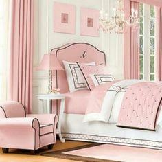 Pink white & black
