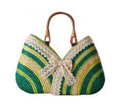 Tonwhar Bohemian Style Natural Straw Beach Bag Bow-knot Straw Woven Tote (Green) Tonwhar http://www.amazon.com/dp/B00KGVW1HI/ref=cm_sw_r_pi_dp_q3rPtb1R7VR2GPD9