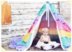 10 DIY tents and teepees