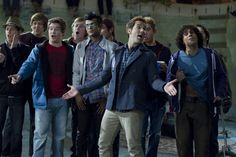 Love him in this scene, and love this scene in this movie. Pitch Perfect