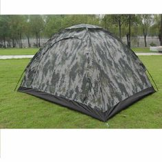 Greenery*/Outdoor Camping Waterproof 2 person 4 season folding tent Camouflage Hiking >>> Check this awesome product by going to the link at the image.
