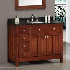 "Found it at Wayfair Supply - Ove Decors Lyon 42"" Single Bathroom Vanity Sethttp://www.wayfairsupply.com/Ove-Decors-Lyon-42-Single-Bathroom-Vanity-Set-Lyon-XOV1022.html?refid=SBP"