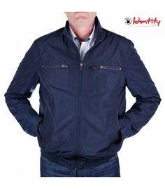 Jacheta bleumarin de primavara Denim Button Up, Button Up Shirts, Athletic, Fashion, Moda, Athlete, Fashion Styles, Deporte, Fasion