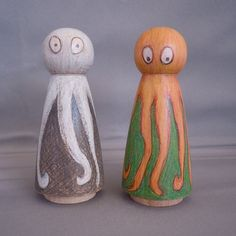 Little Wood Octopi by littlewoodpeople on Etsy, $25.00
