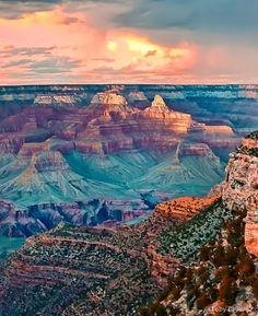 11. Gaze into the Grand Canyon, USA - 50 Ultimate Travel Bucket List Ideas ... → Travel