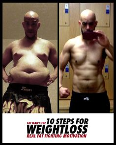 FAT MAN'S 10 STEPS FOR WEIGHT LOSS THAT WORKS. To lose weight is one thing but to continue to lose weight week in and week out is a different thing. Benjami