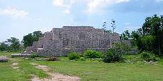 Dzibilchaltun Ruins in Progresso, Mexico