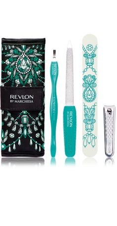 NEW Revlon® Marchesa Runway Collection™ Manicure Essentials Kit. BRINGING THE RUNWAY TO YOUR FINGERTIPS. .