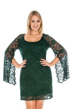 Rochie de ocazie pentru femei plinute marimi XXXL+ din dantela cu maneci decupate Lace Green Formal Dresses, Fashion, Dresses For Formal, Moda, Formal Gowns, Fashion Styles, Formal Dress, Gowns, Fashion Illustrations