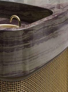 A favourite place: Hôtel de Crillon. Detail Architecture, Interior Architecture, Bathroom Inspiration, Interior Inspiration, Design Inspiration, Style Français, Brass Tap, Joinery Details, Bathroom Toilets