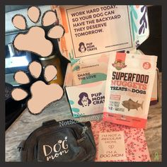 The September Pup Mom Crate did not disappoint! Some of Maddie & my faves this month... The Dog Mom crossbody bag, Dog Mom notebook, & grain-free salmon treats! | Want to learn more about Pup Mom Crate?! Read my full Dog Mom Review at Not So Mommy..., a childless dog mom blog. | Pup Mom Crate | Pup Mom Crate Review | Dog Mom Box | Dog Mom Boxes | Dog Mom Subscription Box | Dog Mom Blog | Dog Mom Blogs | Fur Mom | Fur Mama | Dog Mommy | Pet Parent | Dog Mom Life | Fur Moms | Fur Mama | Fur Mommy