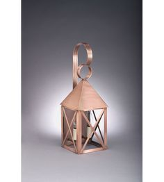 Northeast Lantern York 2 Light Outdoor Wall Lantern in Antique Copper 7031-AC-LT2-CLR #lightingnewyork #lny #lighting