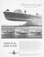 Century Resorter 16 Runabout Boat 1959 Ad Picture