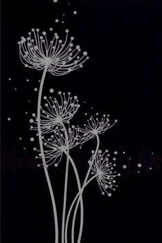 Best 12 Buy 'The Three Ballerinas' by Dianne English as a Poster, Throw Pill. Black Canvas Art, Art Painting, Black Paper, Ink Art, Black And White Painting, Black Paper Drawing, Scratchboard Art, Dandelion Drawing, Black Canvas Paintings