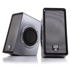 GOgroove SonaVERSE O2 Computer Speaker System with Passive Subwoofers & USB-Powered Stereo Design - Works with Acer  Apple  HP and more Desktop  Laptop & Multimedia Devices