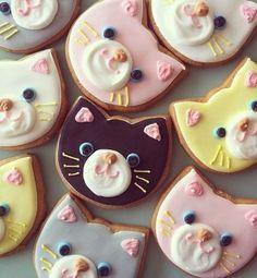 Des biscuits chats... à croquer !